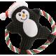 Huisdier Pluche Kauwspeelgoed Geluid Cartoon Katoen Touw Kerst